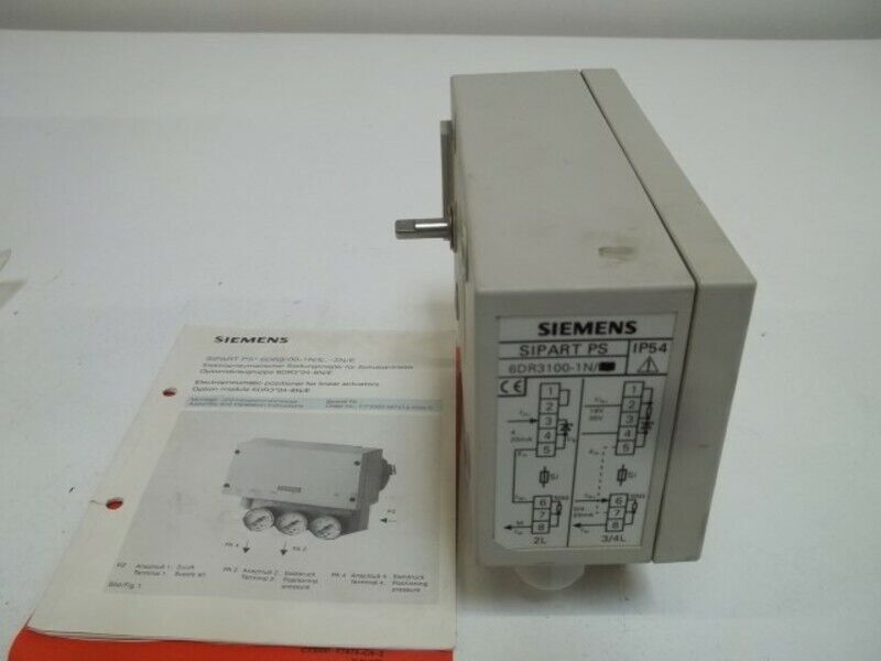 SIEMENS 6DR3100-1N ACTUATOR CONTROLLER * USED *