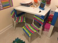 Two brand new kids chairs age 2-6 approx