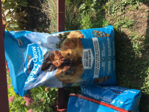 3 16kg bags of puppy food