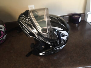 HJC Snowmobile Helmets with Bluetooth headsets