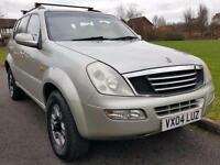 Ssangyong Rexton 2.9TD RX 290 SE + DIESEL + MANUAL + LOW MILES