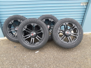 ** 4 ALL NEW WORX BEAST  WHEELS AND TIRES 6X139.7   ***