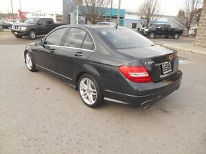 2013 Mercedes-Benz C-Class C300 4MATIC Sport Sedan Peterborough Peterborough Area image 4