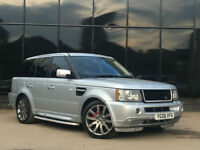 Range Rover Sport 2.7TD V6 auto 2006 HSE 2012 FACELIFT STYLING PX SWAP FINANCE
