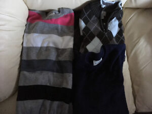 7 Boy's Sweaters - Size 10/12 - All 7 For $30