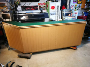 Mancave, Shop Bar, reception counter