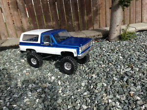 Custom Rc4wd blazer