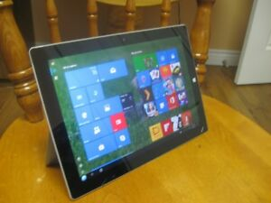 MICROSOFT SURFACE 3, 64 GB, MODEL 1645, 10.8 INCH SCREEN