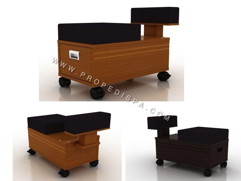 Quality Pedi cart / Pedicart/ Drawer Trolley for pedicure chair spa nail salon