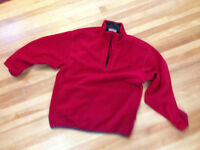 Red fleece found on Gibson Trail