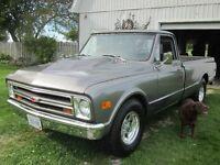 1968 chevy c20 not c10