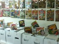 COMICS THOUSANDS EVERY SATURDAY 12 TO 4 ALL AGES ALL KINDS!