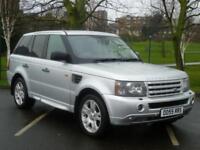 2005 55, Land Rover Range Rover Sport 2.7TD V6 auto HSE + SAT NAV + XENONS