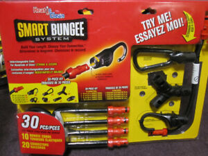 30 Pce. Heat & Clean Smart Bungee System - New in Pack - $20.00