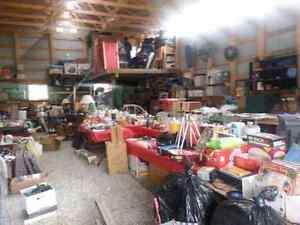 Multi family acreage garage sale in Cochrane May 8