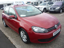 59 REG Volkswagen Golf 2.0TDI CR ( 110ps ) 2009MY S