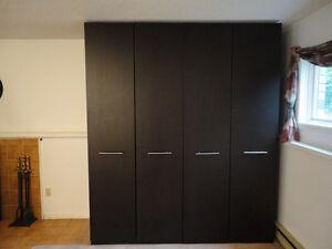 2x Ikea Pax Wardrobe