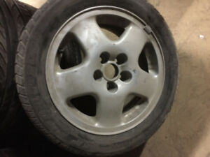 "15"" Volkswagen Corrado VR6 RIM +TIRE [ SINGLE ]"