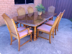 Universal Furniture French Cane Dining Set (Imported) Newcastle Newcastle Area Preview