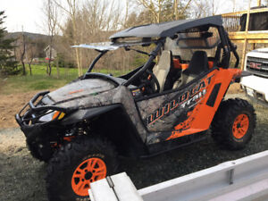 2016 Arctic Cat Wildcat Trail * Low kms + Lots of Extras*