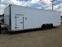 30 foot enclosed trailer for sale