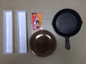 poele assiette cuisson ustensile plaque tupperware etc.