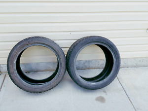255/40/18  Michelin Pilot Alpine  *** 2 TIRES ONLY**