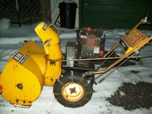 Older mastercraft snow blower