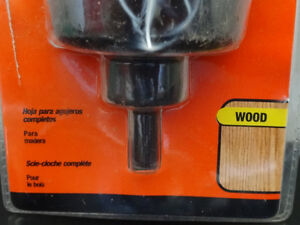 spade bit set, tapered tap, cylindrical rotary file, hole saw... Cornwall Ontario image 5
