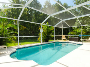 Gorgeous hidden gem with private pool near Disney World!