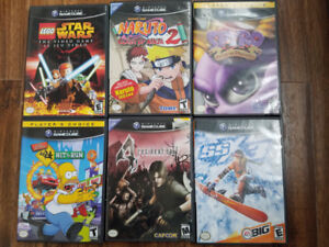 Gamecube games $20 each
