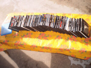 50 CD/DVD empty cases in excellent condition
