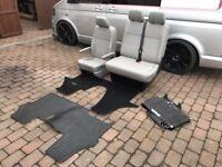 VW T5.1 complete set front seats.