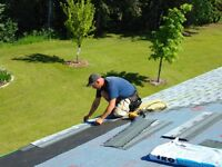 Experienced professional roofer