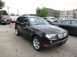 2007 BMW X3 AWD 3.0Si - Pano Roof, B/tooth, Low Ks, Mint