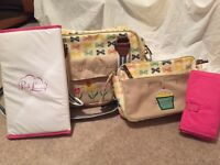 Pink lining - blooming gorgeous bag & yummy Mummy mini bag.
