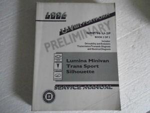 1996 Lumina Minivan Transport Silhouette Sevice Manual  2 of 2