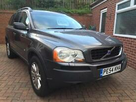 Volvo XC90 2.4 geartronic D5 SE 2004 54 Reg 5 Dr 7 Seater
