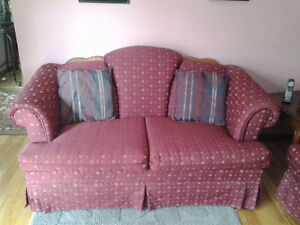 Sofa,Love seat & Wing Back Chair