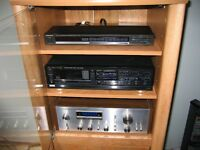 vintage stereo equipment