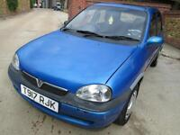 Vauxhall Corsa 1.2i 16v 1999 Club 77K From New MOT Until May 2017!!! HPI CLEAR