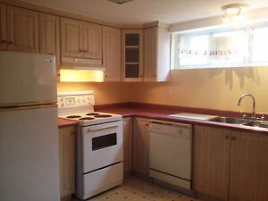 Bright basement All inclusive with free parking and laundry