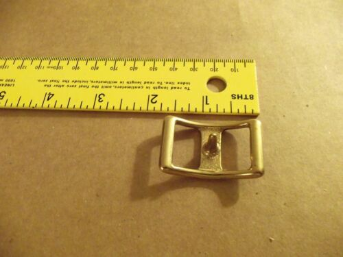 """3/4"""" Solid Brass #210 Conway Harness Buckle (Pack Of 5)"""
