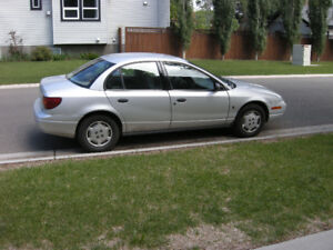 2002 Saturn SL1, Manual Trans. $ 950.00