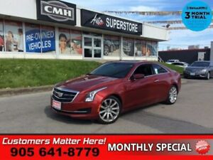 2015 Cadillac ATS 2.0 Turbo  AWD CUE BOSE LEATH ROOF CAM REMOTE