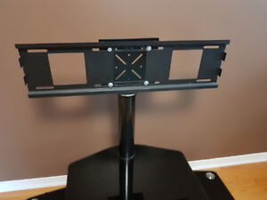 TV Stand - 3 Tier Glass for up to 55 in TVs