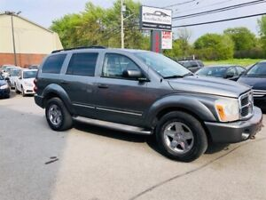 Dodge Durango Limited-4WD-DVD-Cuir-7 Passagers-Toit-Mags 2005