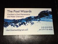 Guelph & Area Book with The Pool Wizards to get your pool ready!