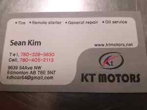 KT Motors Holiday Specials for you and your Car! Edmonton Edmonton Area image 1