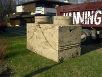 USED SEPTIC TANK